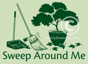 Sweep Around Me – Emily S. Damstra