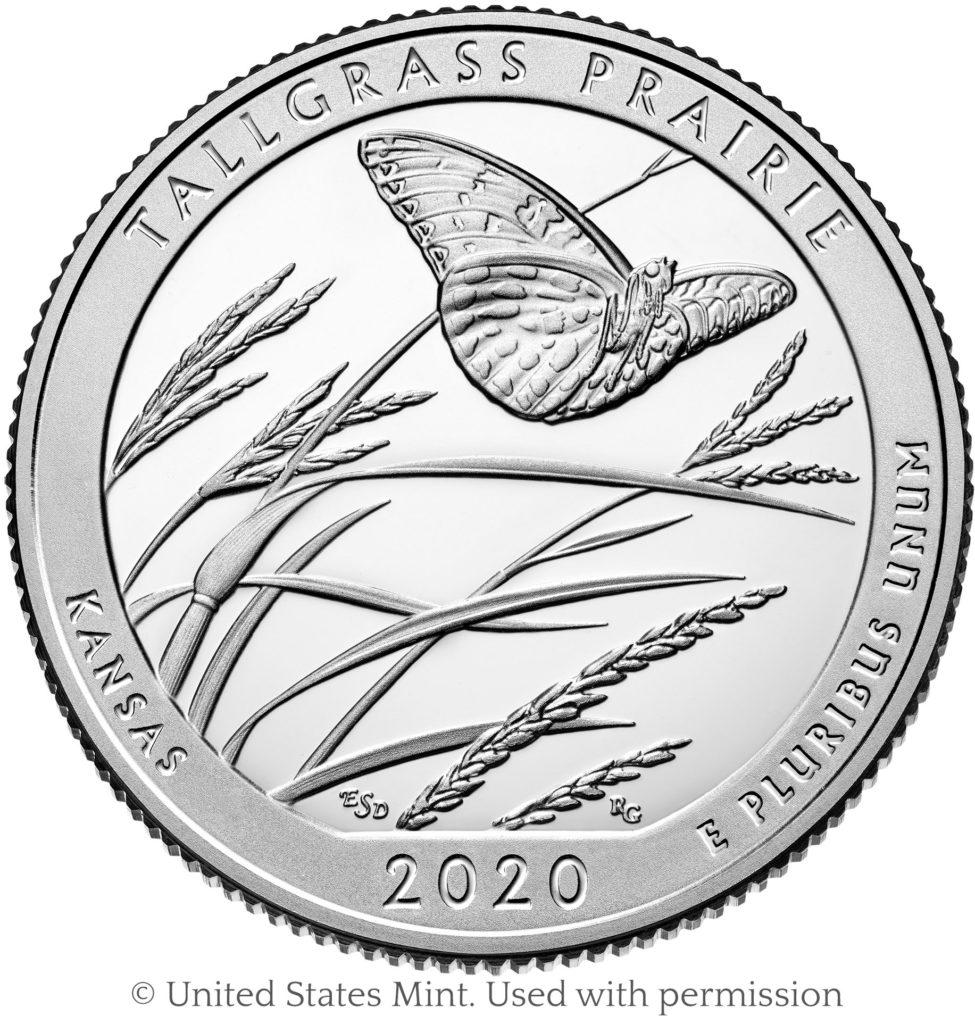 coin Tallgrass Prairie proof