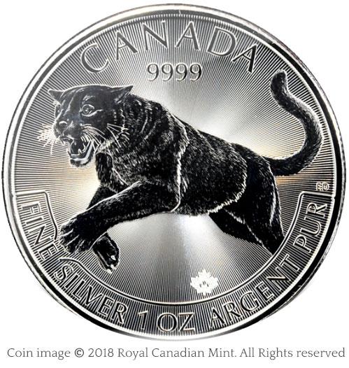 Cougar silver bullion coin