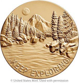 Steve Gleason Congressional Gold Medal reverse – Emily S. Damstra