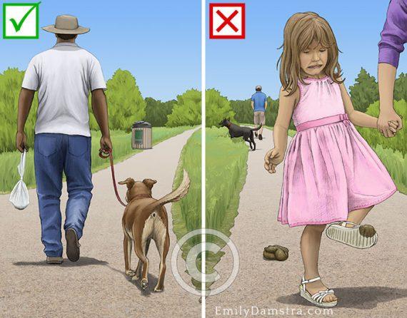 stewardship be a responsible pet owner illustration